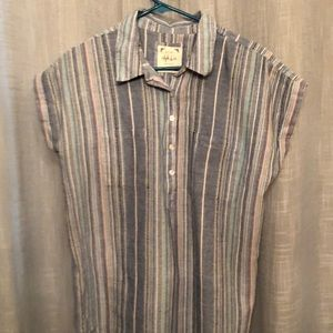Striped Blouse size M.